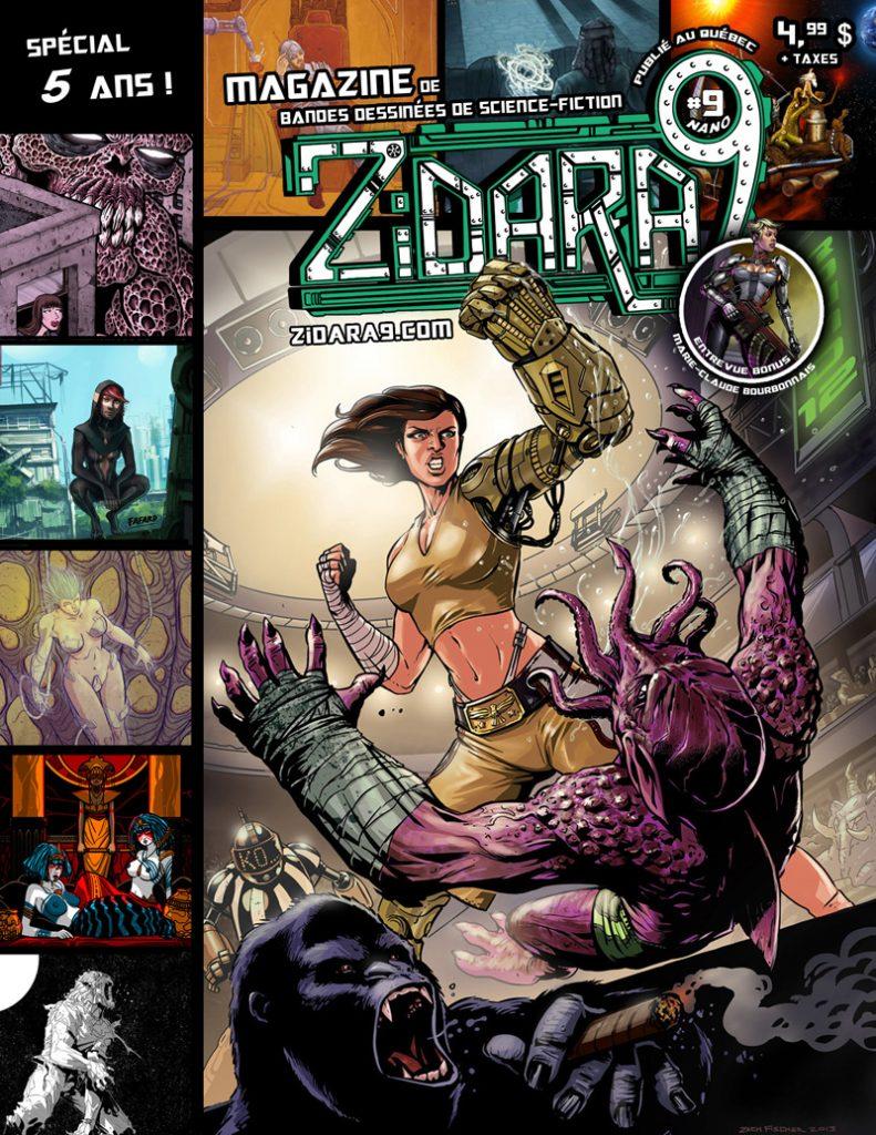 Zidara9 volume 9 Nano