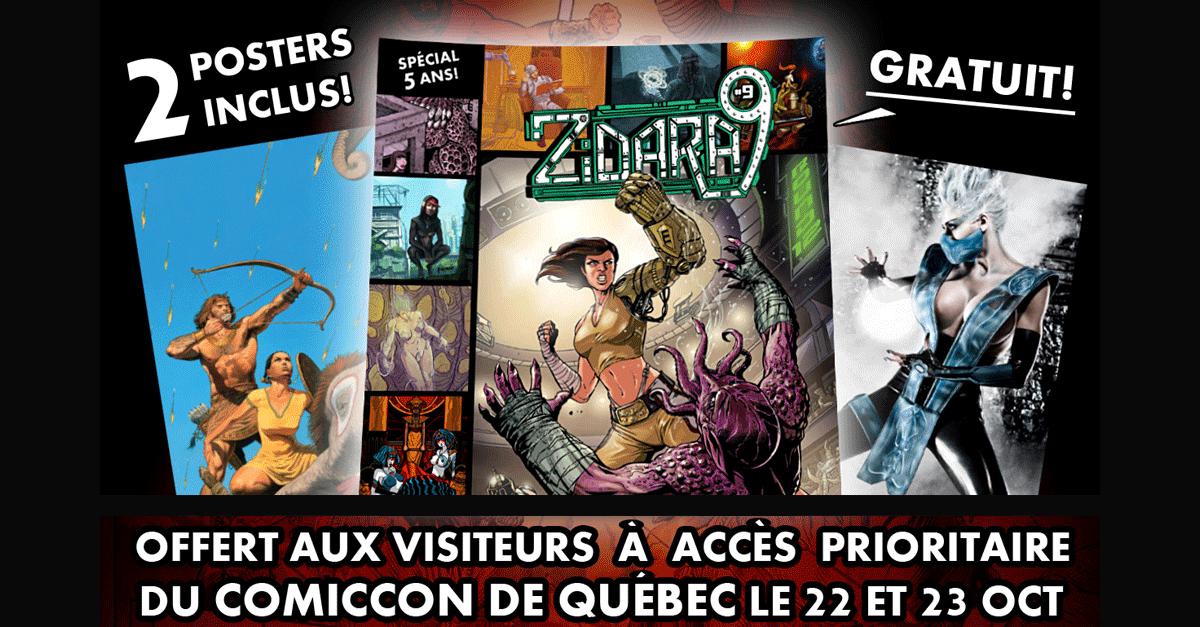 Comiccon de Québec 2016