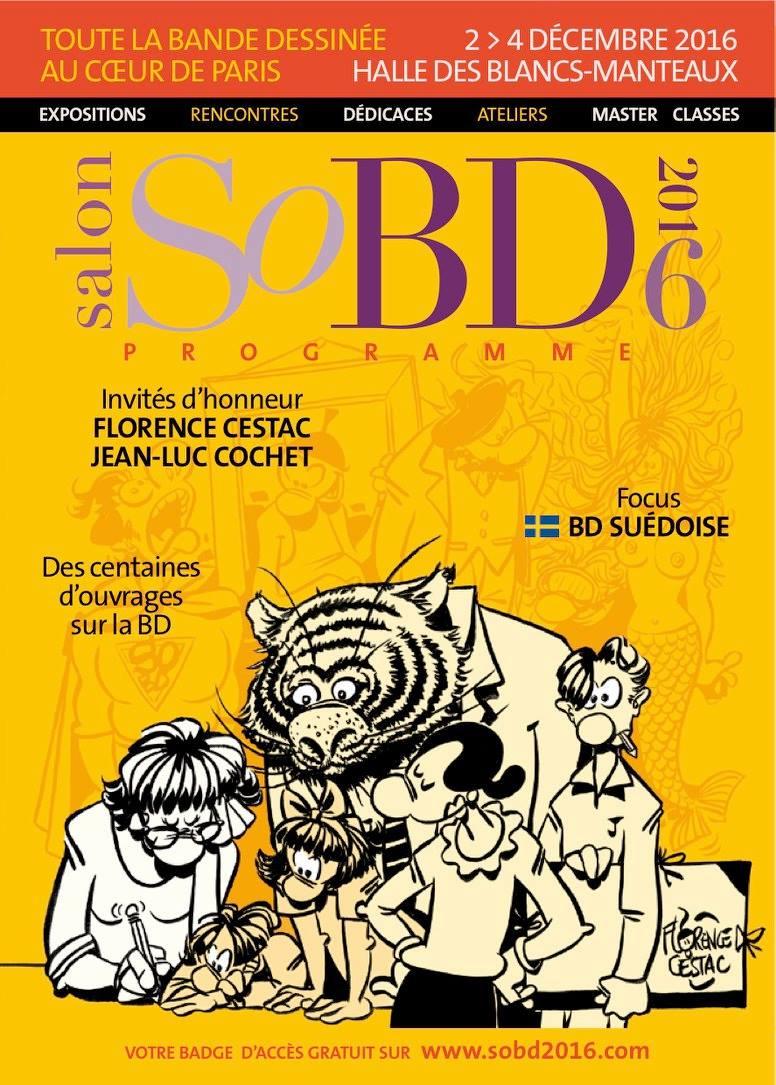 Salon de la BD de Paris 2016