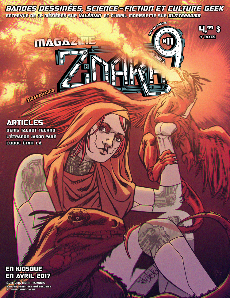 Zidara9 #11 cover