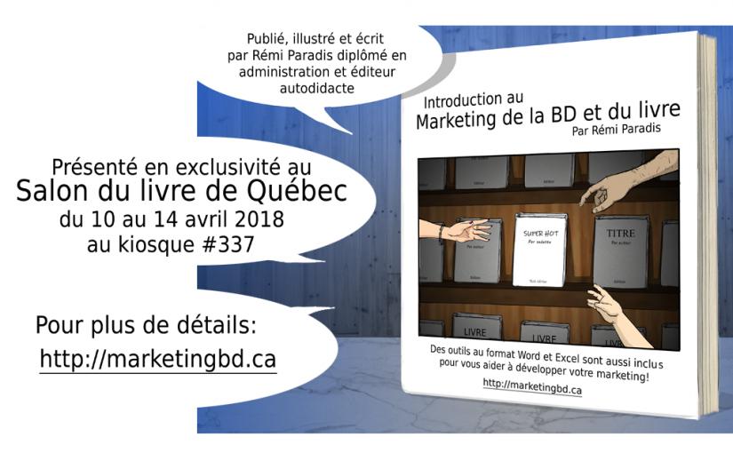 Nouveau livre sur le Marketing de la BD